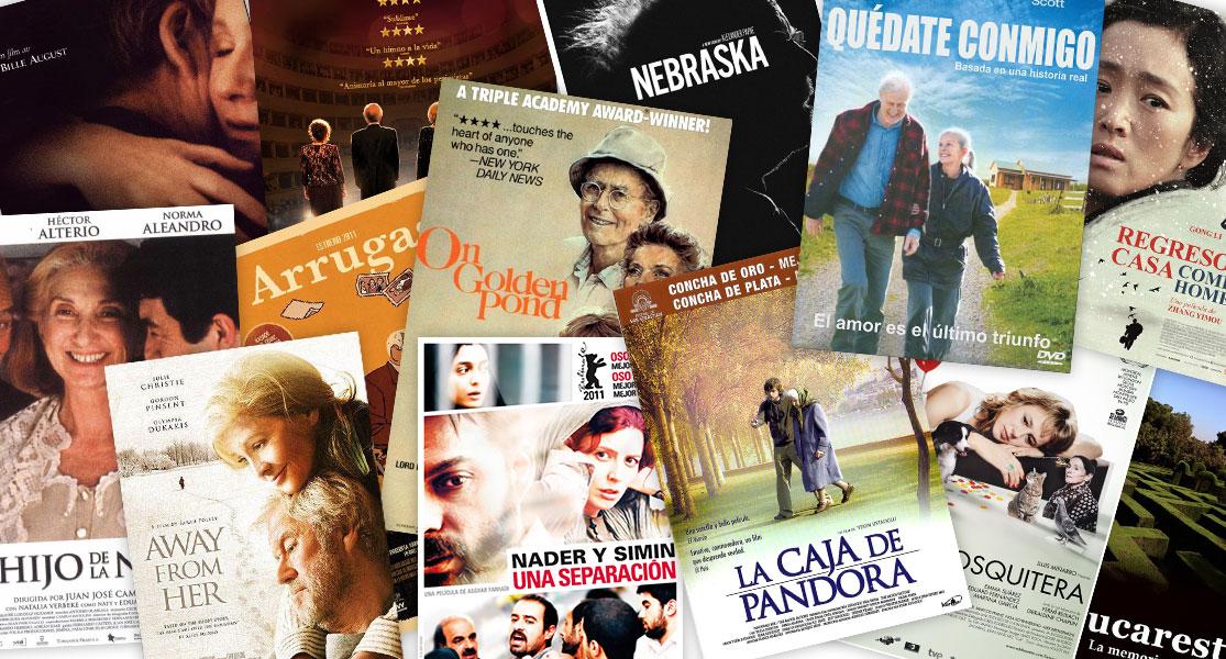 Diferentes películas sobre la enfermedad del Alzheimer