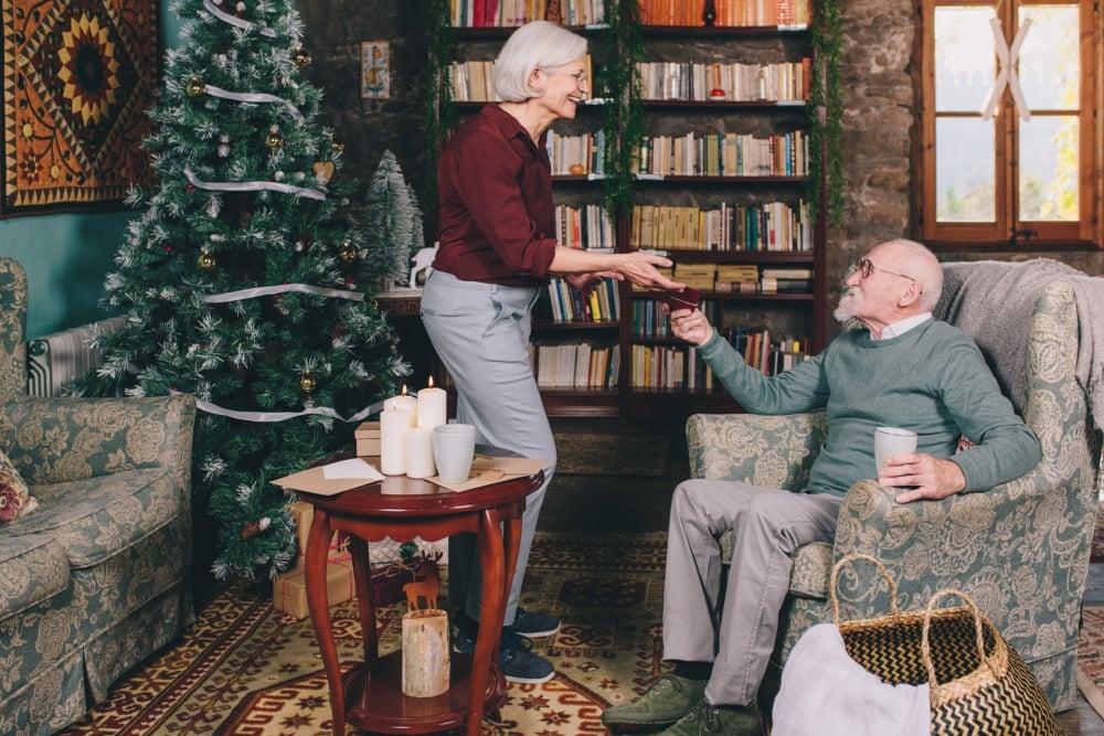 celebrar el Nadal amb una persona amb Alzheimer